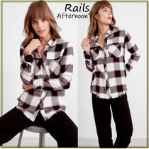 Rails Other Check Patterns Long Sleeves Medium Handmade