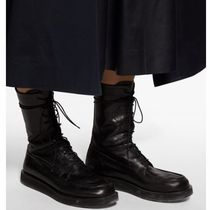 The Row Casual Style Street Style Plain Boots Boots