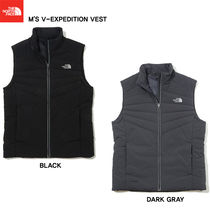 THE NORTH FACE Studded Street Style Plain Vests & Gillets