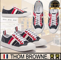 THOM BROWNE Casual Style Unisex Street Style Plain Low-Top Sneakers