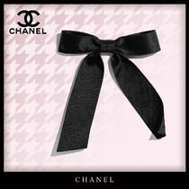 CHANEL Costume Jewelry Barettes Casual Style Unisex Party Style