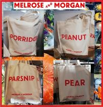 Melrose and Morgan Casual Style Unisex Canvas A4 Totes