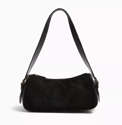 Casual Style Leather Shoulder Bags