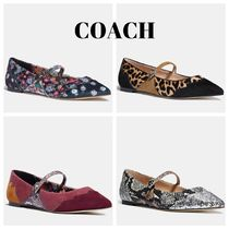 Coach Flower Patterns Leopard Patterns Suede Spawn Skin Velvet