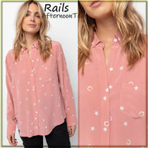 Rails Star Silk Long Sleeves Other Animal Patterns Medium Handmade