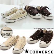 CONVERSE ALL STAR Star Casual Style Street Style Plain Shearling Logo