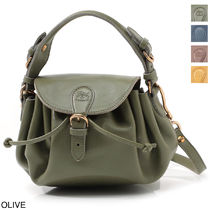 IL BISONTE 2WAY Leather Shoulder Bags