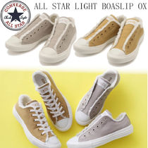 CONVERSE ALL STAR Star Rubber Sole Casual Style Unisex Street Style Plain