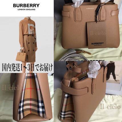 Casual Style Calfskin 2WAY Elegant Style Formal Style  Totes
