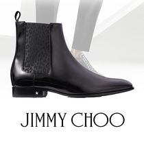 Jimmy Choo Plain Leather U Tips Chelsea Boots Chelsea Boots