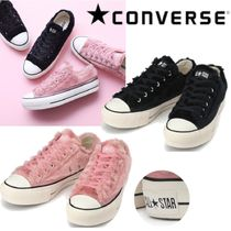 CONVERSE ALL STAR Star Rubber Sole Casual Style Street Style Plain