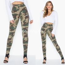 adidas Printed Pants Camouflage Casual Style Street Style Cotton