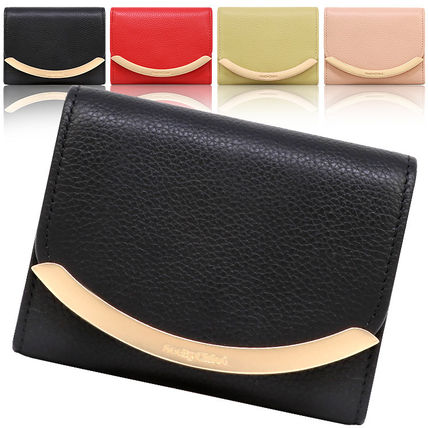 Leather Folding Wallet Small Wallet Folding Wallets