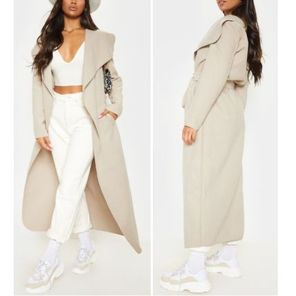 ASOS Plain Long Wrap Coats