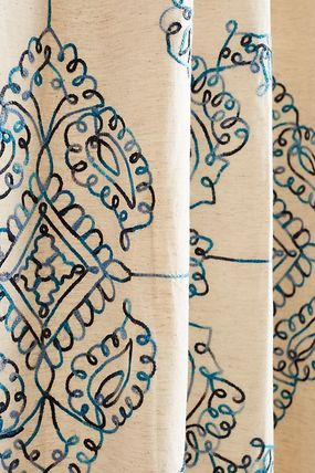 Anthropologie Ethnic Co-ord Curtains