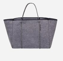 State of Escape Casual Style Unisex A4 Plain Handmade Totes