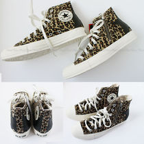 CONVERSE ALL STAR Star Leopard Patterns Unisex Sneakers
