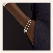 HERMES Chaine dAncre Casual Style Animal Chain Party Style Silver Office Style