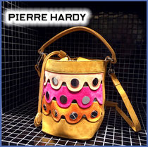 Pierre Hardy Casual Style Calfskin 2WAY Shoulder Bags