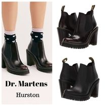 Dr Martens HURSTON Plain Leather Boots Boots
