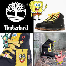 Timberland Unisex Collaboration Kids Girl Boots