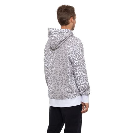 HUF Hoodies Pullovers Leopard Patterns Street Style Long Sleeves Plain 5