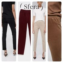 Sfera Casual Style Corduroy Plain Medium Pants