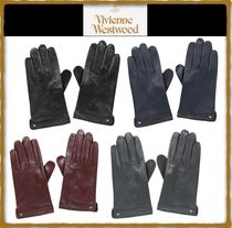 Vivienne Westwood Street Style Leather Leather & Faux Leather Gloves