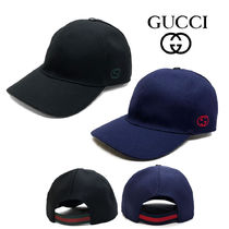 GUCCI Unisex Street Style Caps