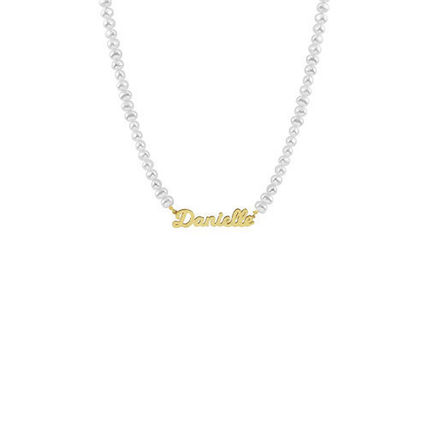 Casual Style Unisex Initial Street Style Chain Handmade