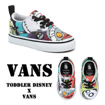 VANS Unisex Street Style Collaboration Halloween Baby Girl Shoes