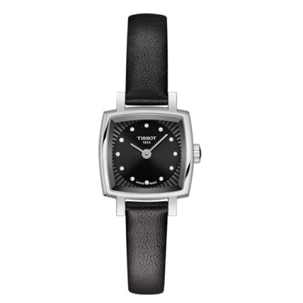 Leather Square Quartz Watches Office Style Elegant Style