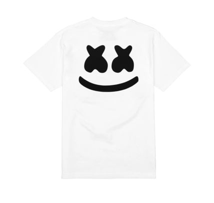 Marshmello Long Sleeve Crew Neck Unisex Street Style Long Sleeves Plain 6