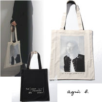 Agnes b Casual Style Unisex Totes