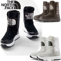 THE NORTH FACE Rubber Sole Plain Flat Boots