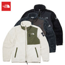 THE NORTH FACE WHITE LABEL Short Casual Style Unisex Faux Fur Street Style Plain