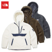 THE NORTH FACE Short Casual Style Unisex Street Style Plain Outerwear