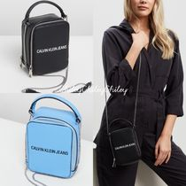 Calvin Klein Casual Style Elegant Style Shoulder Bags