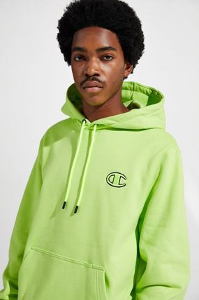 CHAMPION Hoodies Pullovers Other Check Patterns Unisex Sweat Street Style 2