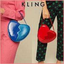 KLING Casual Style Shoulder Bags