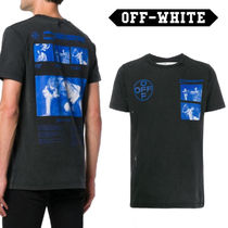 Off-White Pullovers Cotton Short Sleeves T-Shirts