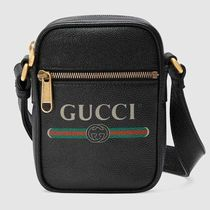 GUCCI Leather Messenger & Shoulder Bags