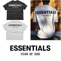 FEAR OF GOD ESSENTIALS Unisex Street Style Plain Short Sleeves T-Shirts