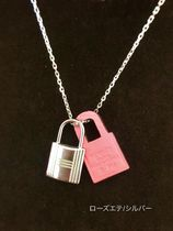 HERMES Kelly Leather Necklaces & Pendants
