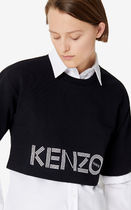 KENZO Short Street Style Cotton Short Sleeves Cropped