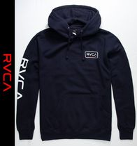 RVCA Sweat Street Style Long Sleeves Hoodies