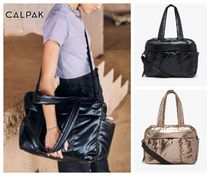 CALPAK Casual Style Unisex A4 2WAY Plain Party Style Office Style