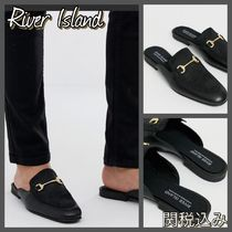 River Island Leather Loafers & Slip-ons