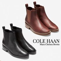 Cole Haan Plain Leather Ankle & Booties Boots