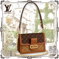 Louis Vuitton MONOGRAM Monogram Casual Style Canvas 3WAY Chain Leather Office Style